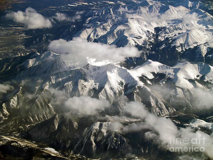 Fine Art Photography Photograph - View From Above by Patricia Griffin Brett