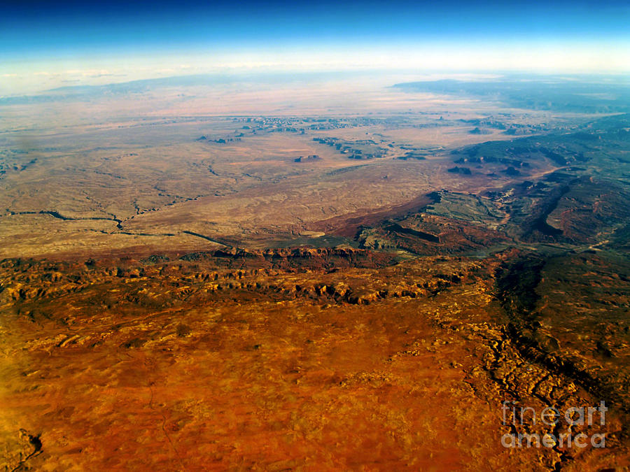 View From Above Vi Photograph  - View From Above Vi Fine Art Print