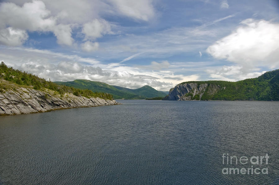 View From Bonne Bay Photograph