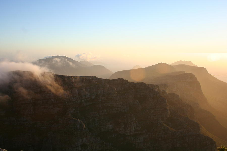 View From Table Mountain II Photograph  - View From Table Mountain II Fine Art Print