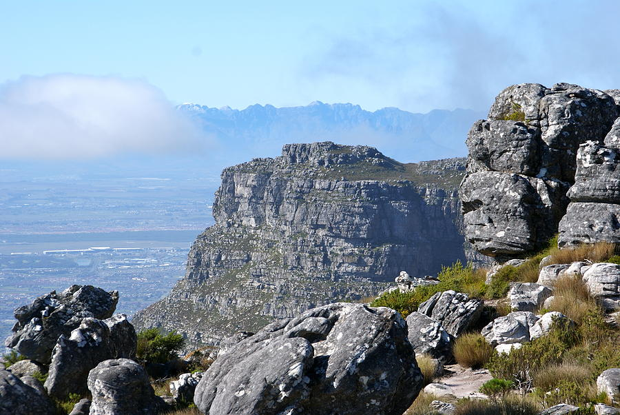 View From Table Mountain Photograph  - View From Table Mountain Fine Art Print