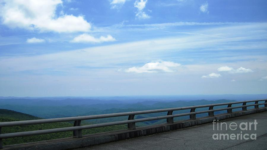 Blue Ridge Photograph - View From The Viaduct by Amy Kinley