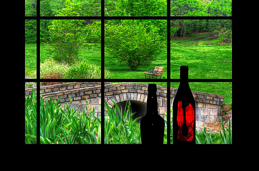 View From The Window Digital Art By Rachel Katic