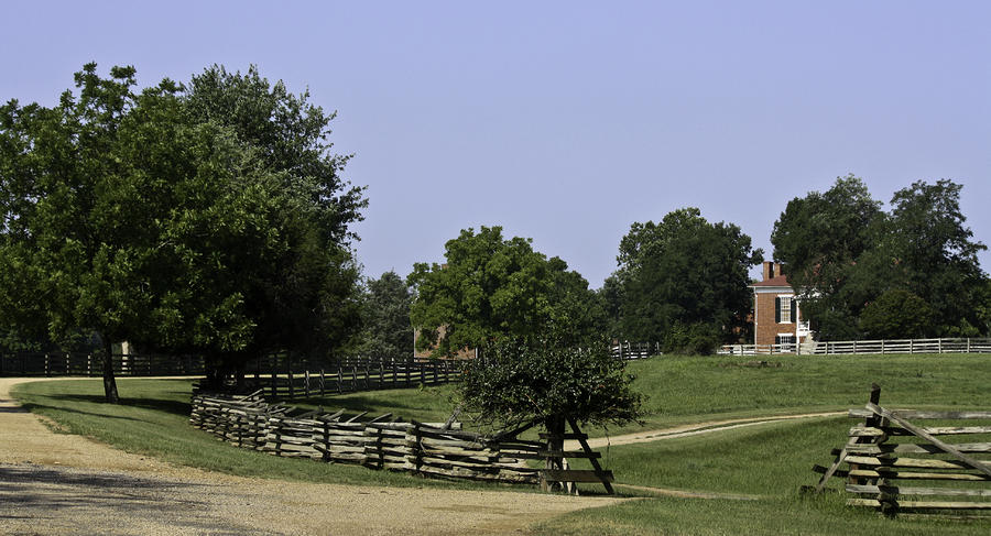 View Of Appomattox Courthouse 2 Photograph  - View Of Appomattox Courthouse 2 Fine Art Print