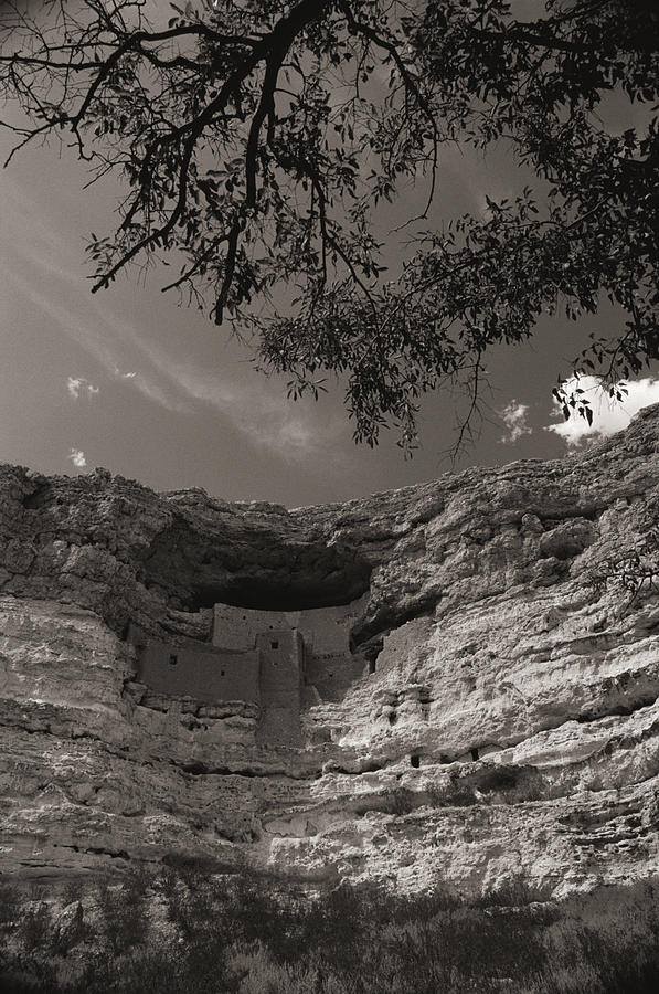 View Of Montezuma Castle Photograph  - View Of Montezuma Castle Fine Art Print