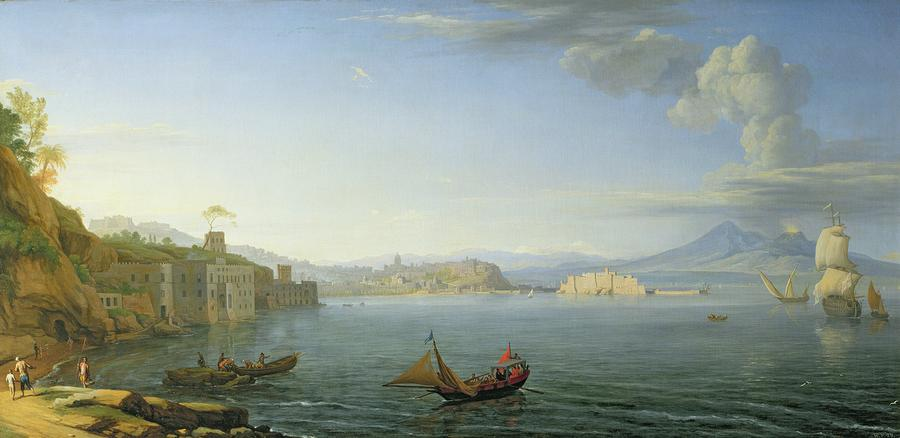 View Of Naples Painting