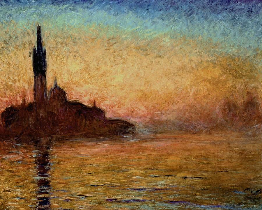 View Of San Giorgio Maggiore Painting