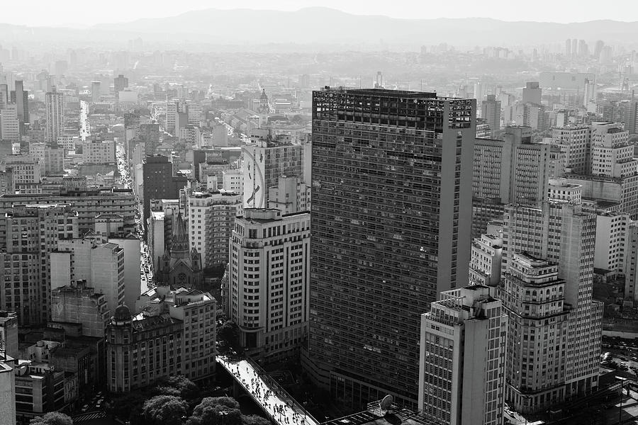 View Of Sao Paulo Photograph