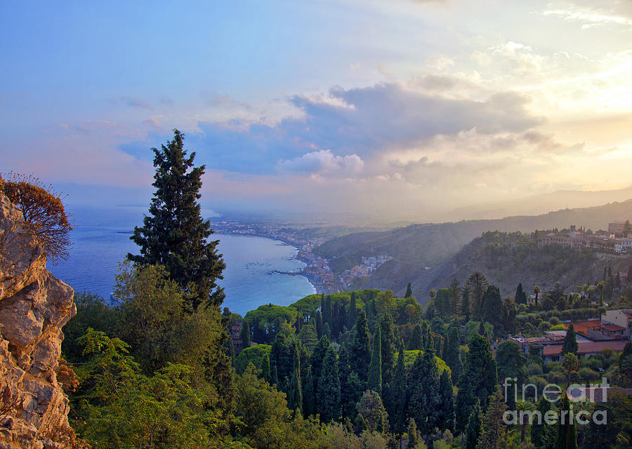View Of Sicily Photograph  - View Of Sicily Fine Art Print
