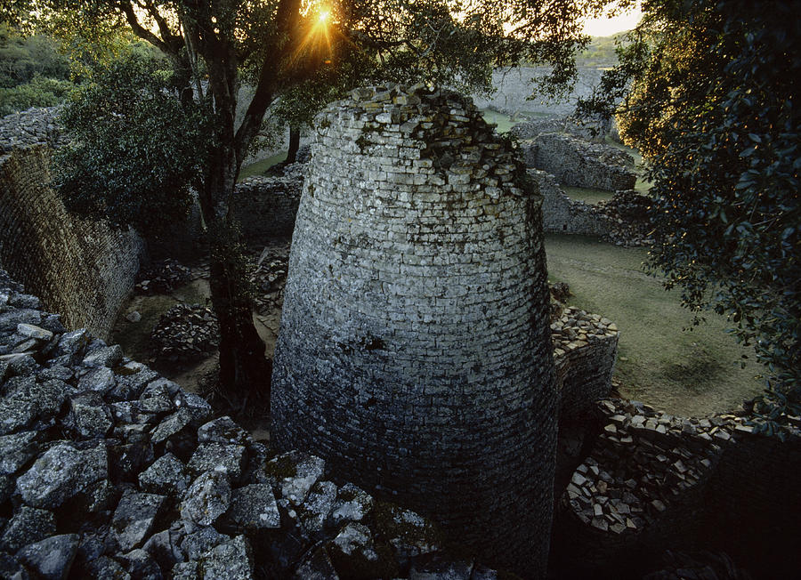 View Of The 8th Century Conical Tower Photograph