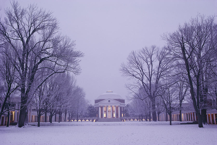 View Of The University Of Virginias Photograph