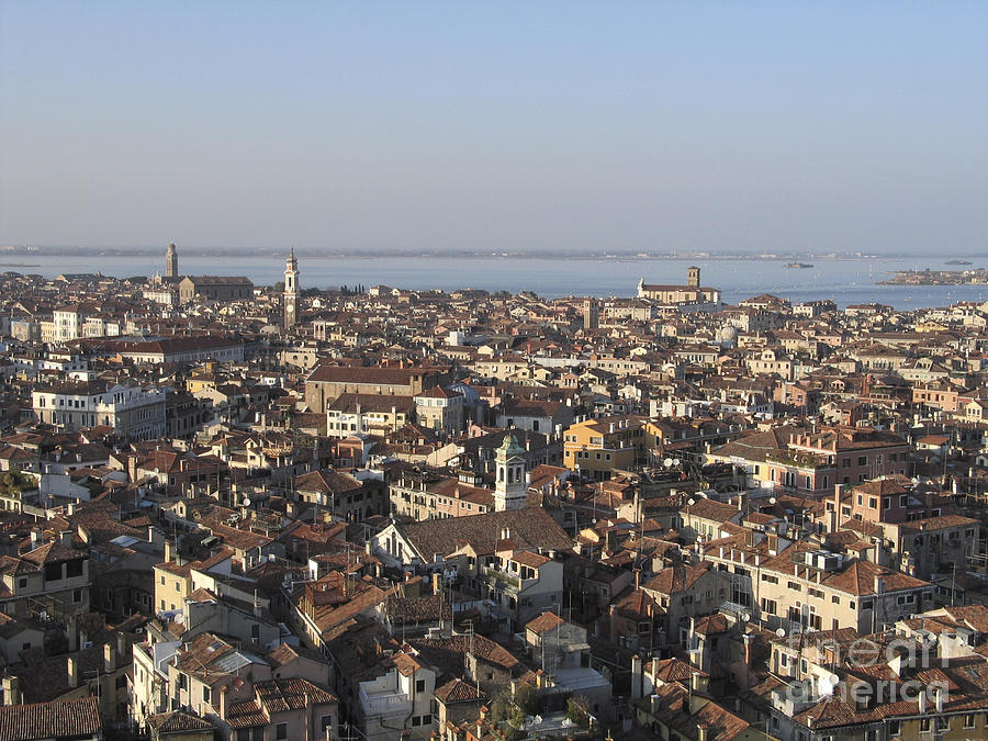 View Of Venice Photograph