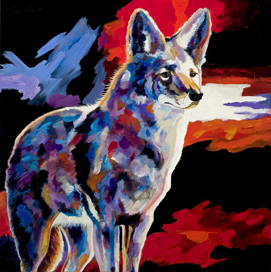 Wildlife Art Painting - Vigilant by Bob Coonts