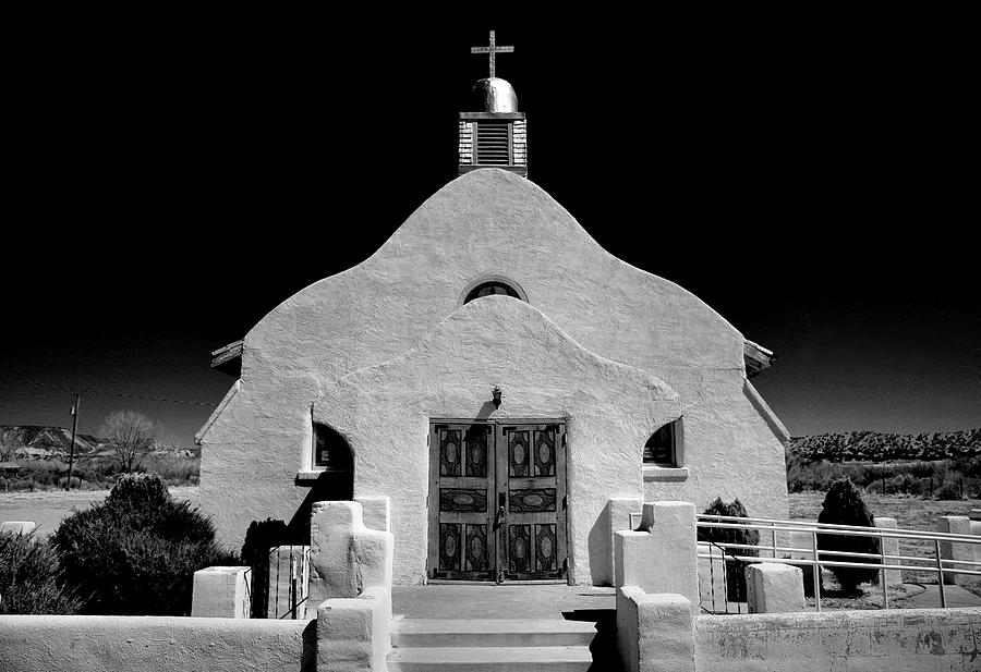 Village Adobe Church I Photograph  - Village Adobe Church I Fine Art Print