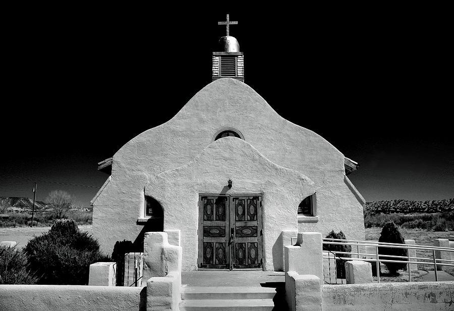 Village Adobe Church I Photograph