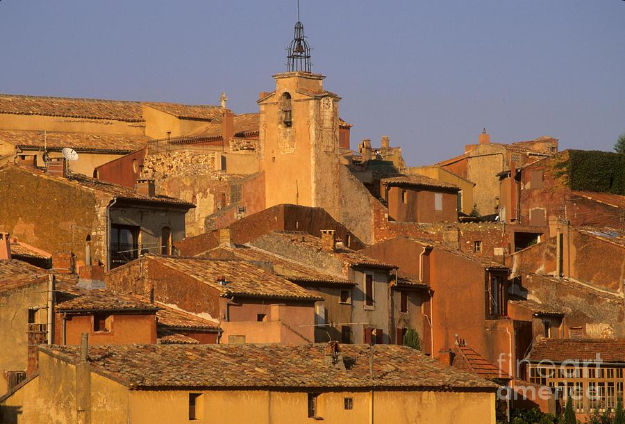 Village De Roussillon. Luberon Photograph
