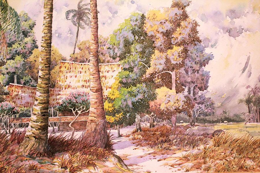 Village Scene by Saadon Bin Saad