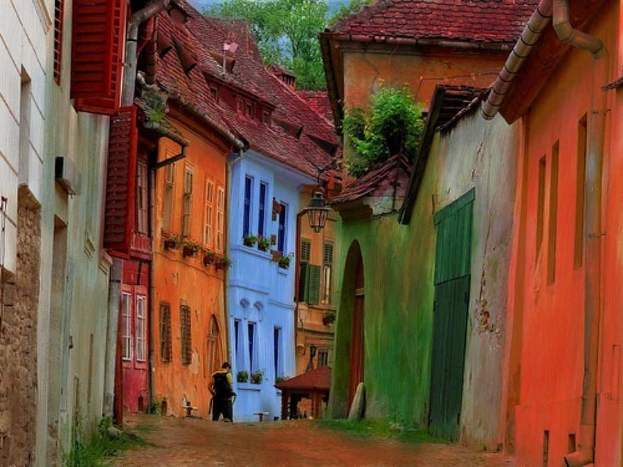 Village Viuw Painting