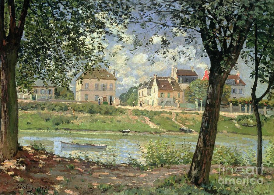 Villeneuve La Garenne Painting
