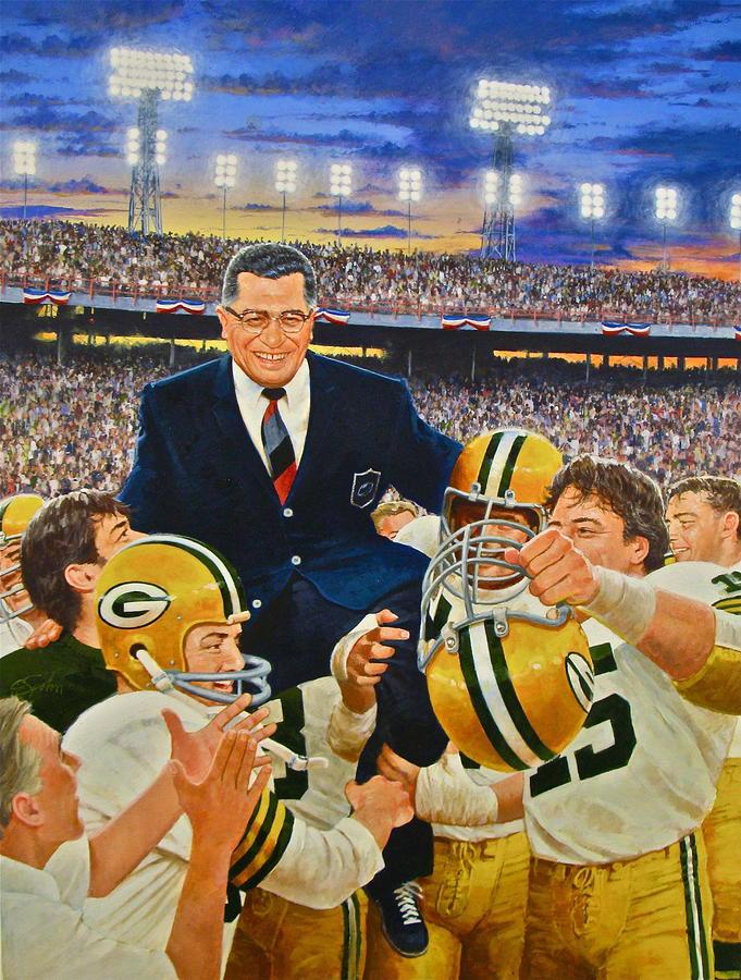 Vince Lombardi Painting