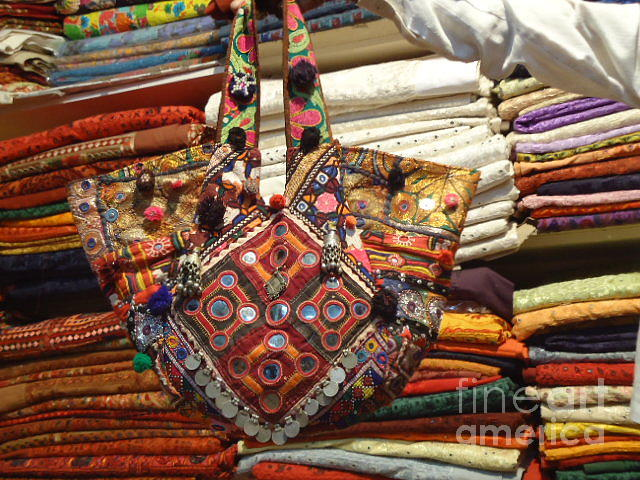 Vintage Bags And Handbags Tapestry - Textile
