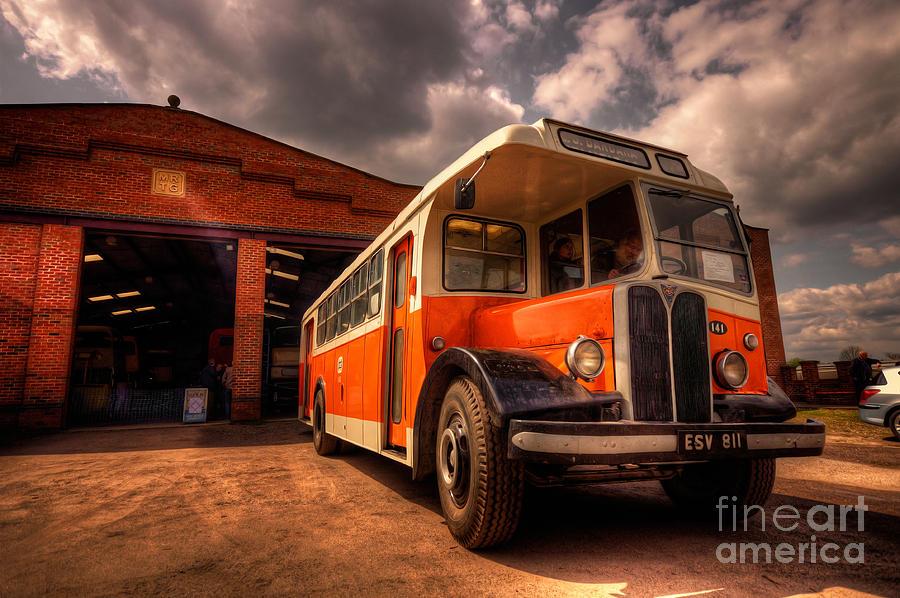 Vintage Bus  Photograph