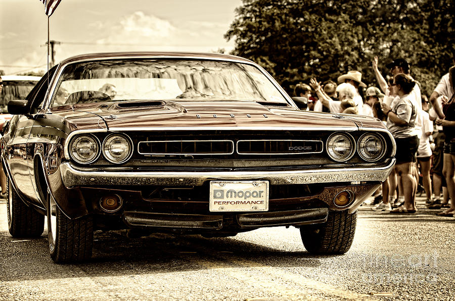 Vintage Dodge Charger Photograph