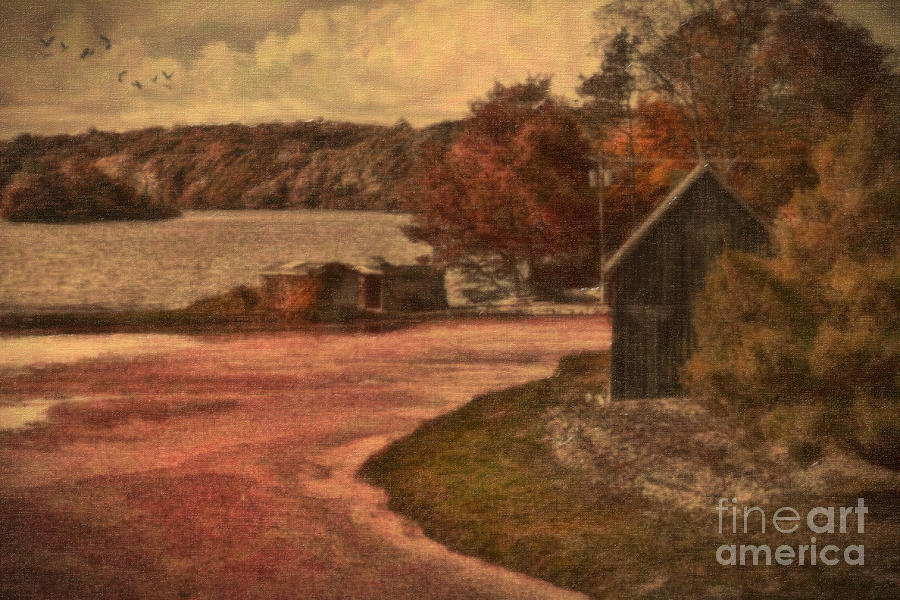 Cape Cod Photograph - Vintage Farm by Gina Cormier