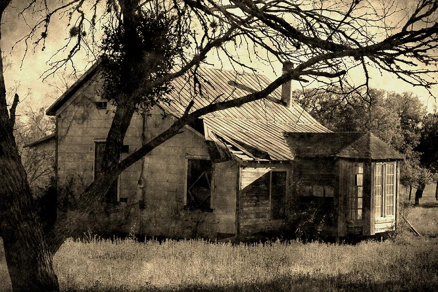 Vintage Farmhouse graph by Sarah Broadmeadow Thomas