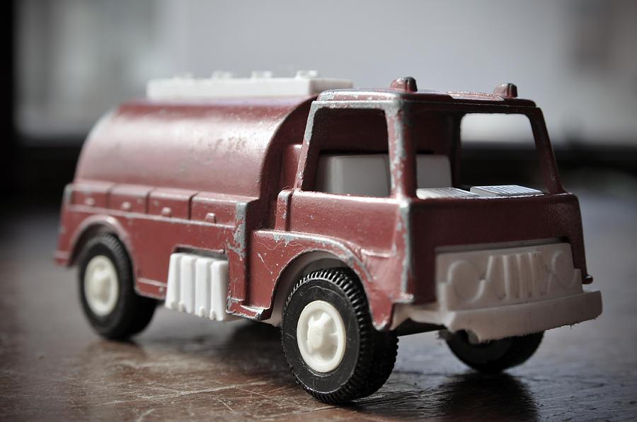 Vintage Fire Truck 2 Photograph