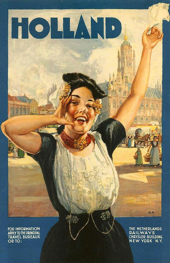 Vintage Holland Digital Art