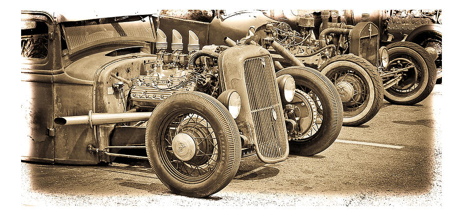 Vintage Hot Rods is a photograph by Steve McKinzie which was uploaded ...