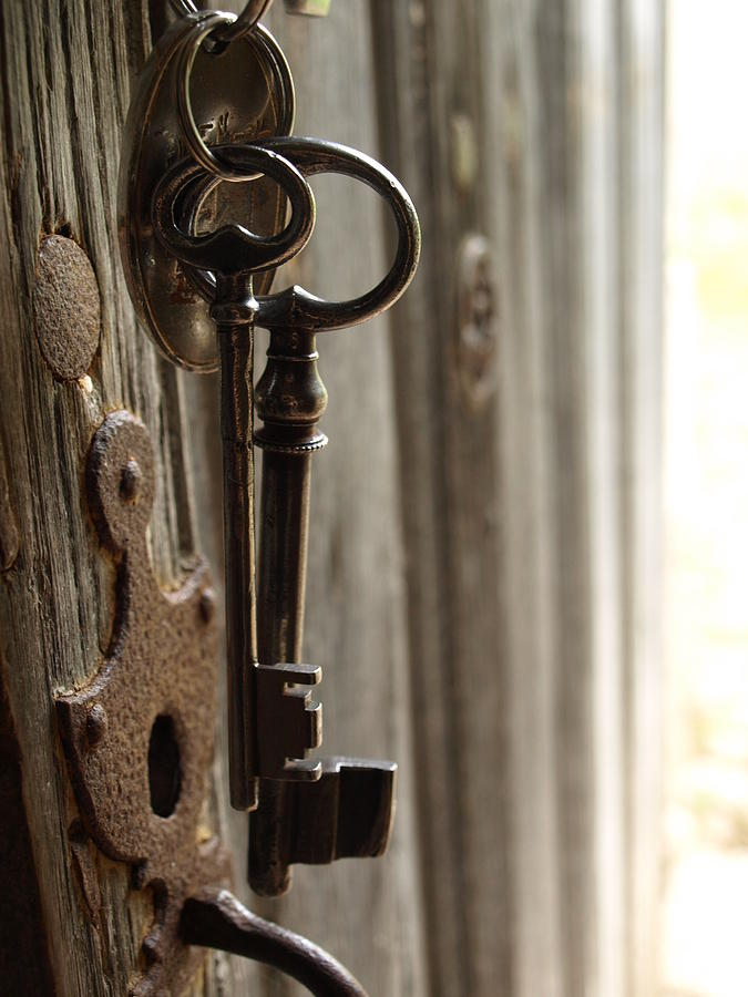 Vintage keys photograph by michelle kujawski for Antique key art