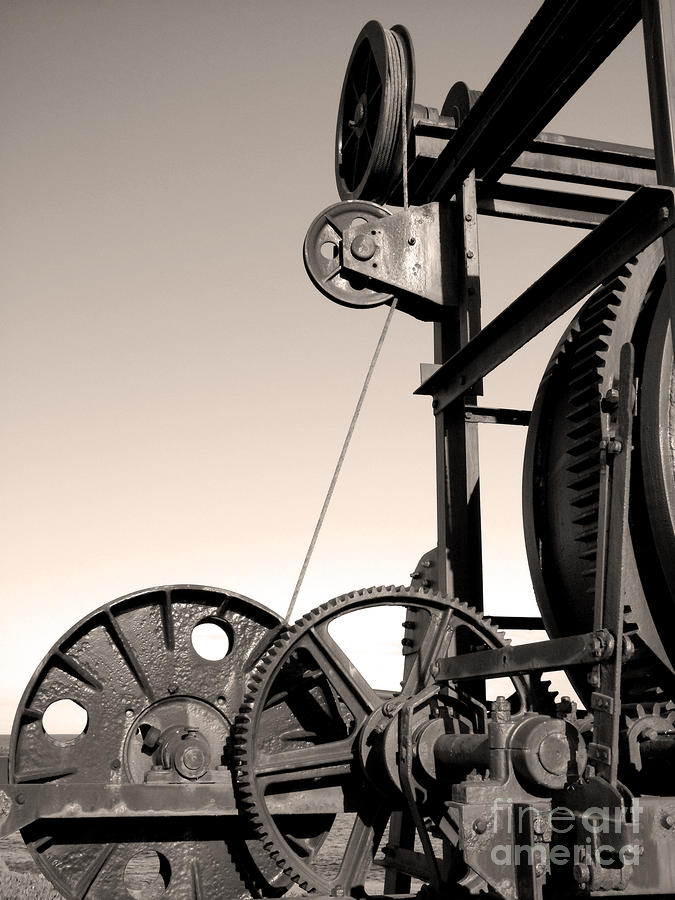 Vintage Machinery Photograph  - Vintage Machinery Fine Art Print