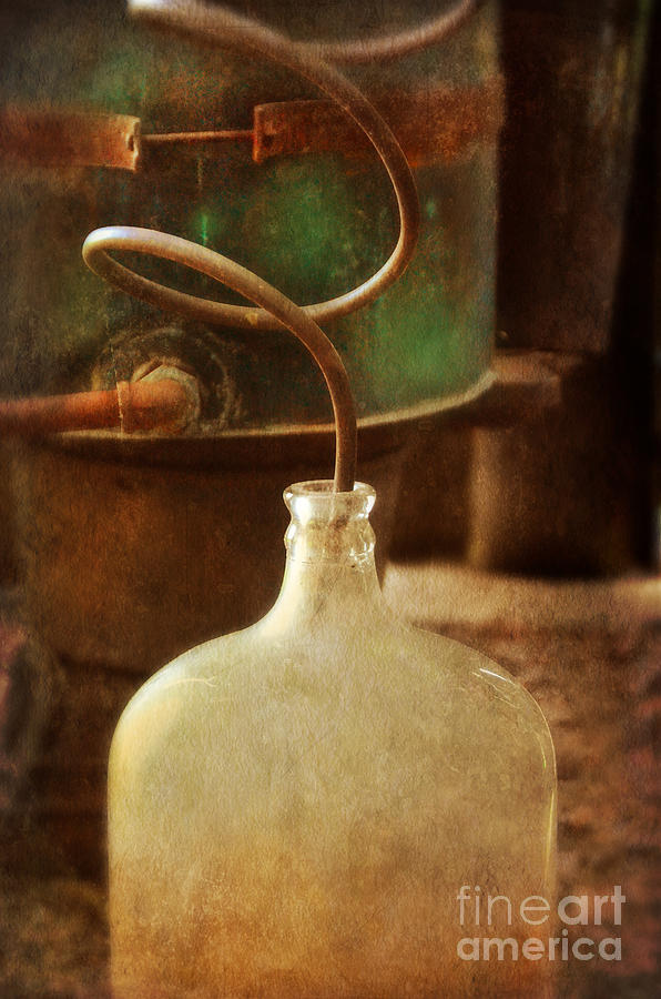 Vintage Moonshine Still Photograph