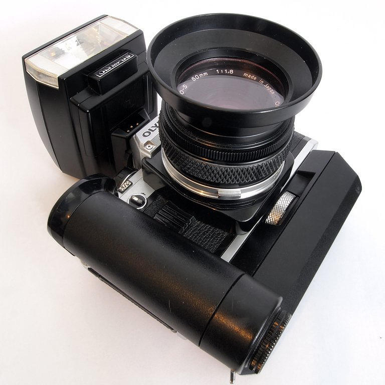 Olmpus Photograph - Vintage Olympus by Christopher Mercer