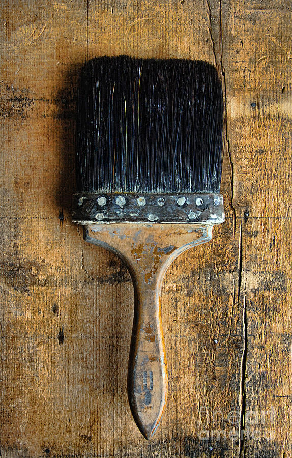 Vintage Paint Brush Photograph
