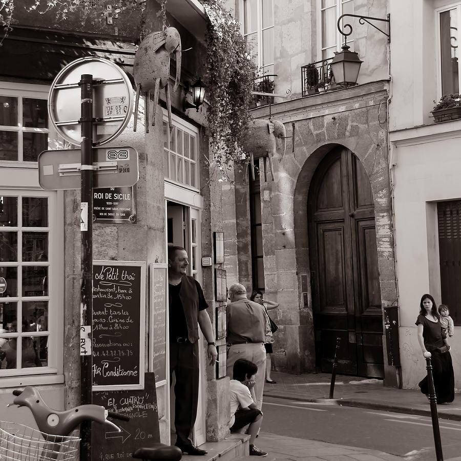 Vintage Paris1 Photograph By Andrew Fare