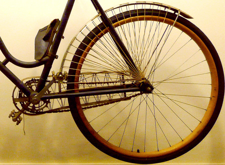 Vintage Remington Bike Photograph