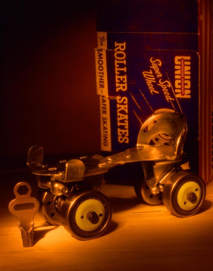Vintage Roller Skates Photograph