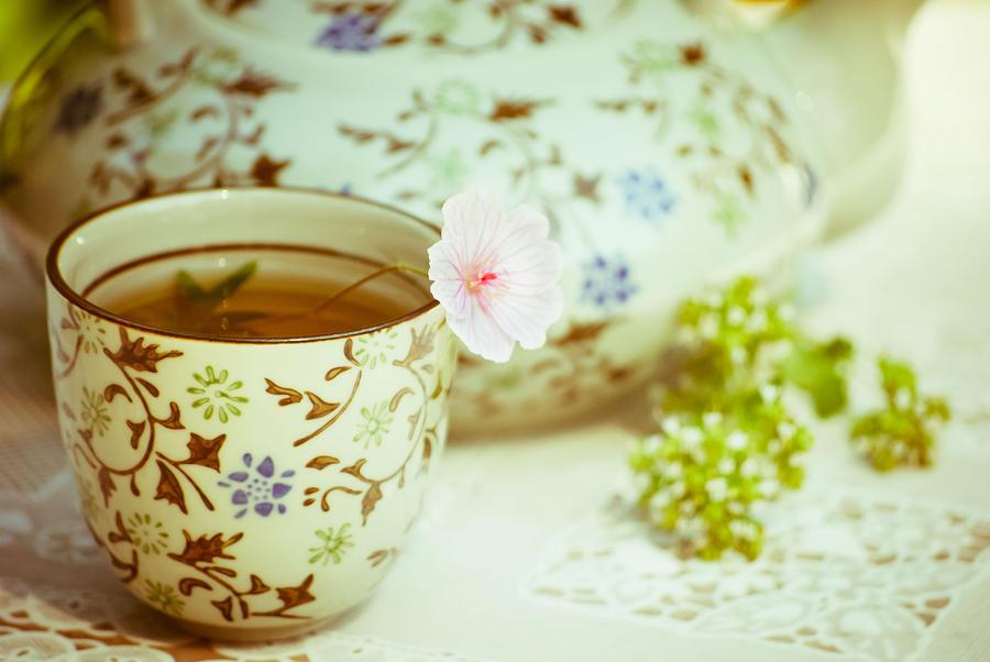 Vintage Tea - 3 Photograph