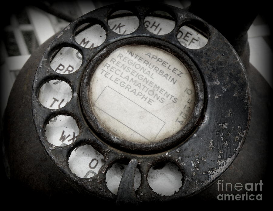 Vintage Telephone Photograph