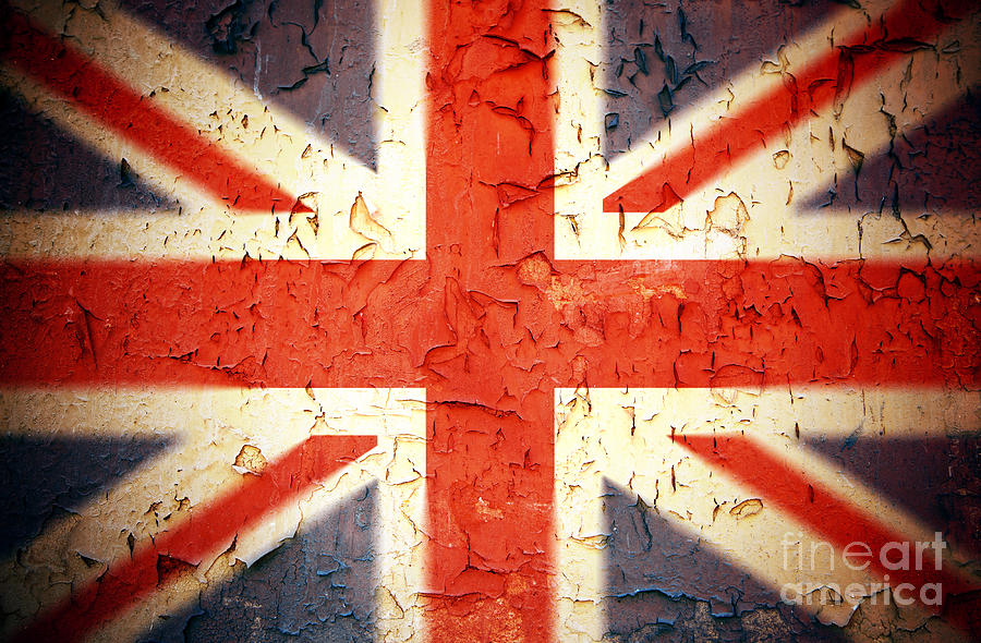 Vintage Union Jack Photograph