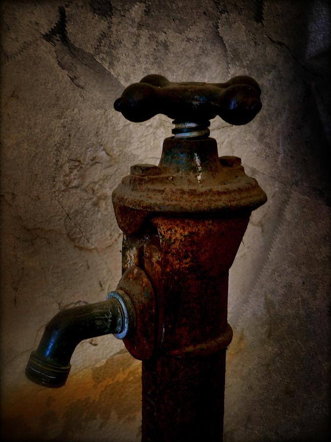 Vintage Water Faucet Photograph