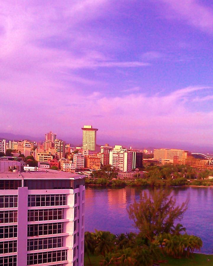San Juan Photograph - Violet Sky by Melissa Cruz
