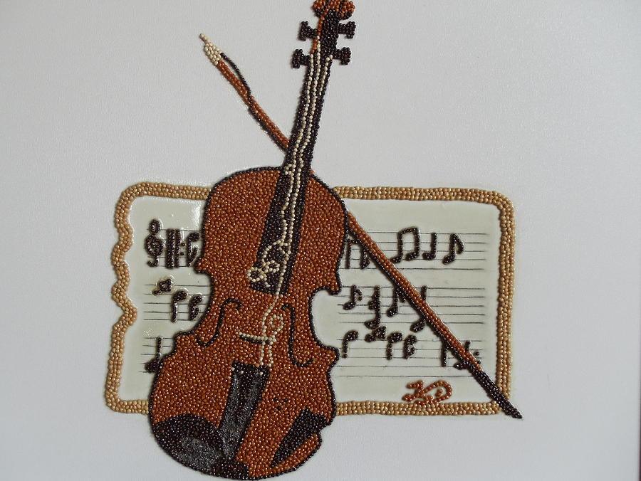 Violin Painting