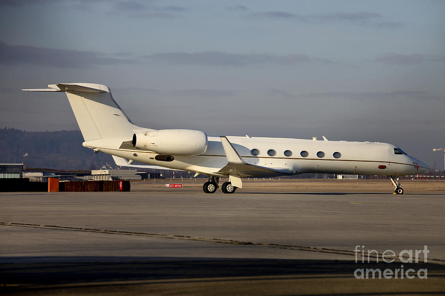 Vip Jet C-37a Of Supreme Headquarters Photograph
