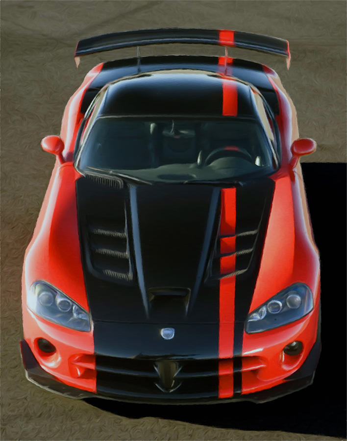 Viper Acr Pastel  - Viper Acr Fine Art Print