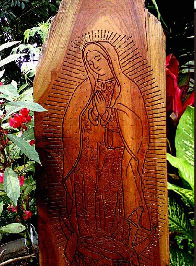 Virgen De Guadalupe Relief