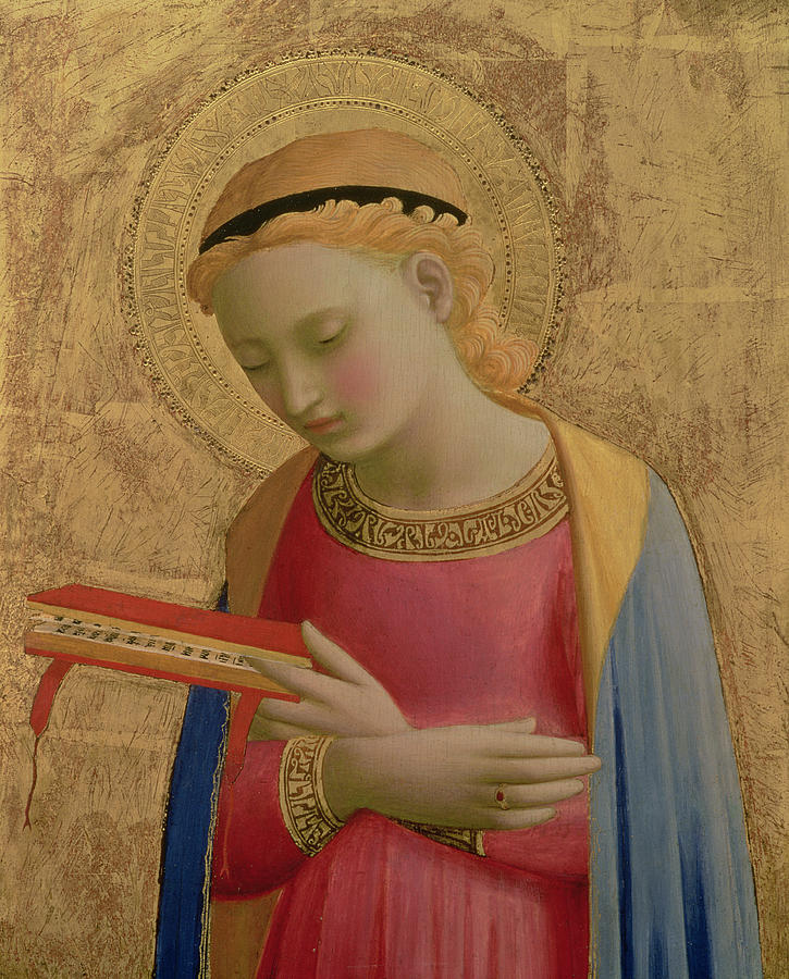 Virgin Annunciate Painting